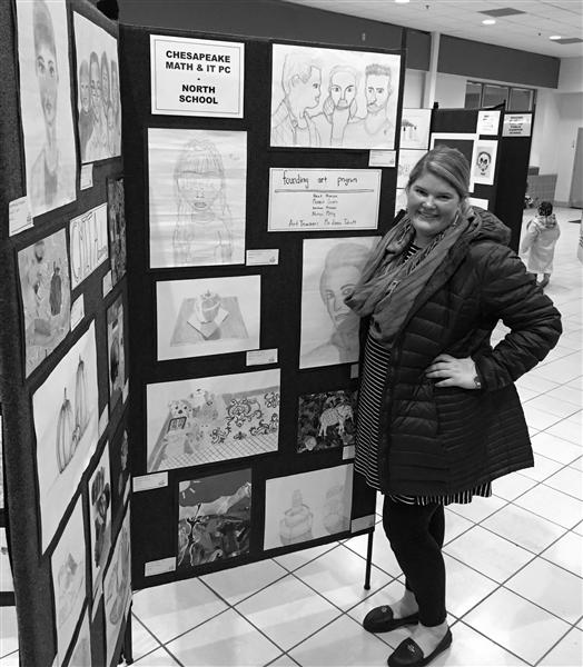 Ms Talcott at Art Show.jpg