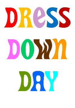 Image result for dress down clipart